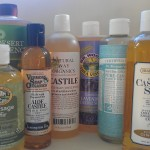 Castile Soaps are great for handwashing