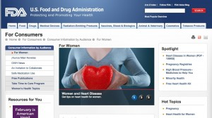 Women and Heart Disease, FDA Web Page