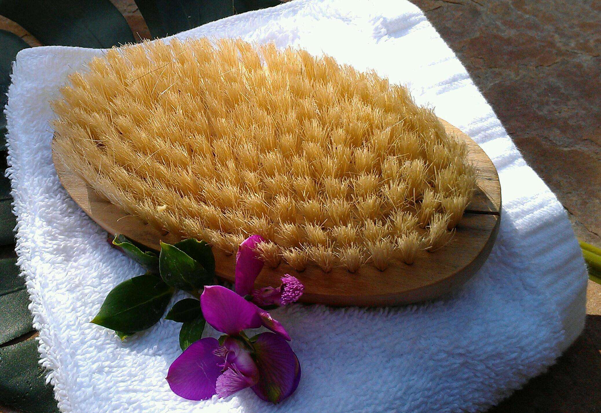 Reduce Cellulite & More with Dry Skin Brushing