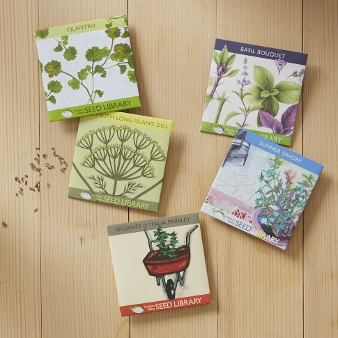 Hudson Valley Herb Seed Packets