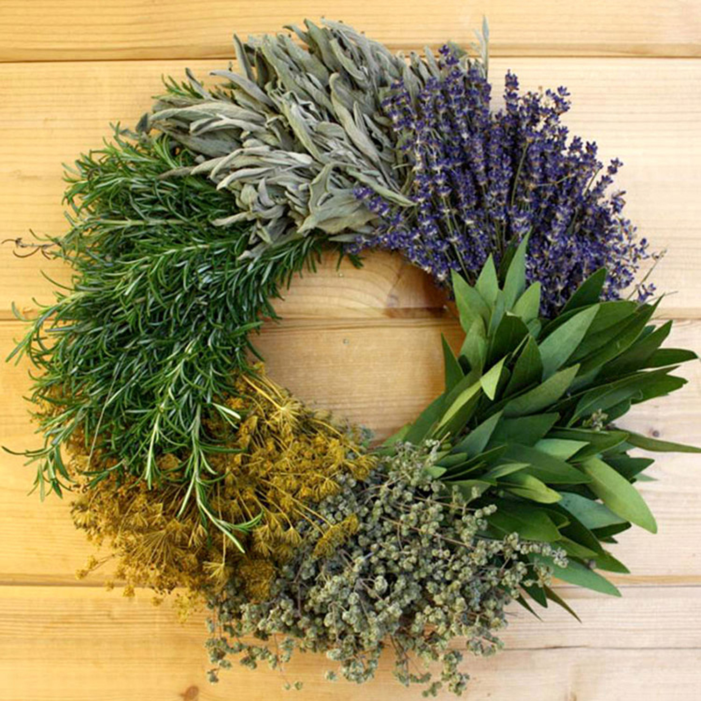 Kitchen Herb Wreath