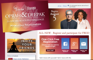Oprah & Deepak's 21-Day Meditation Challenge: Miraculous Relationships