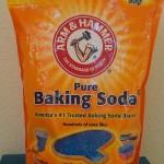 Economy size bag of Arm & Hammer baking soda.
