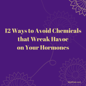 Discover a dozen helpful ways to avoid endocrine disrupting chemicals that throw your hormones out of balance and increase your chances of disease and ill health.