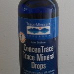 Trace Minerals Research ConcenTrace Mineral Drops are GRAS affirmed and have a reduced sodium content.