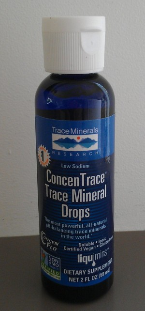 Trace mineral water