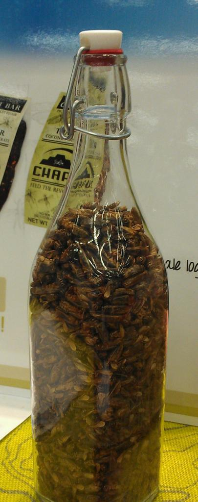 Would you eat dried crickets for a healthy and sustainable source of protein? They're now a part of a few protein