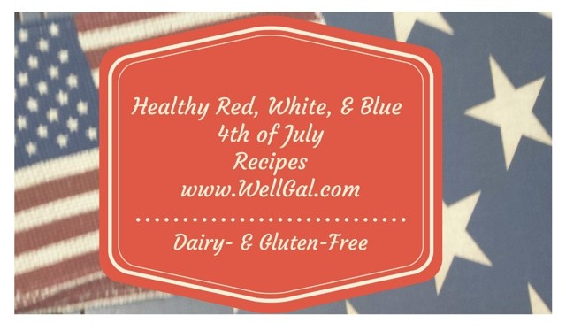 Check out this recipe round-up of healthy dairy- and gluten-free recipes to celebrate the 4th of July in style!